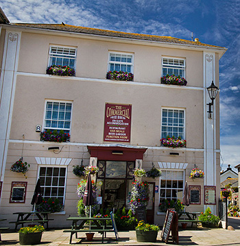 Commercial Hotel St Just Cornwall