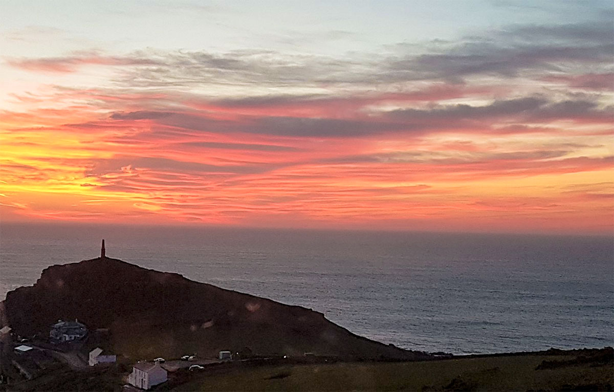 Cape Cornwall Sunset